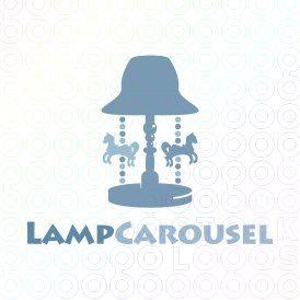 Exclusive Customizable Logo For Sale: Lamp Carousel   StockLogos.com