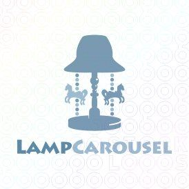 Exclusive Customizable Logo For Sale: Lamp Carousel | StockLogos.com