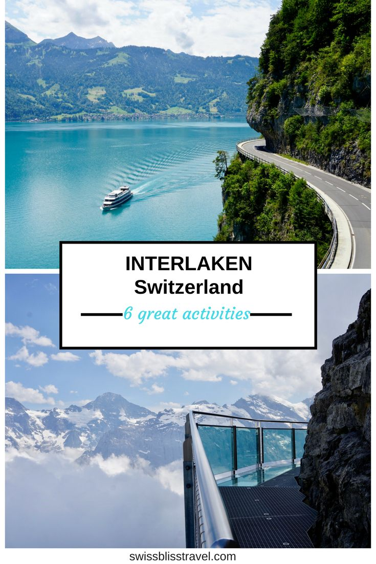There are so many incredible things to do near Interlaken, Switzerland. I'll tell you 6 incredible things to do in Switzerland near Interlaken including paragliding, sightseeing, and incredible mountain views in Switzerland. Don't forget to save this pin to your travel board so you can plan your trip to Switzerland.