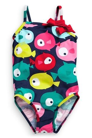 fish // brights // pattern // swimsuit