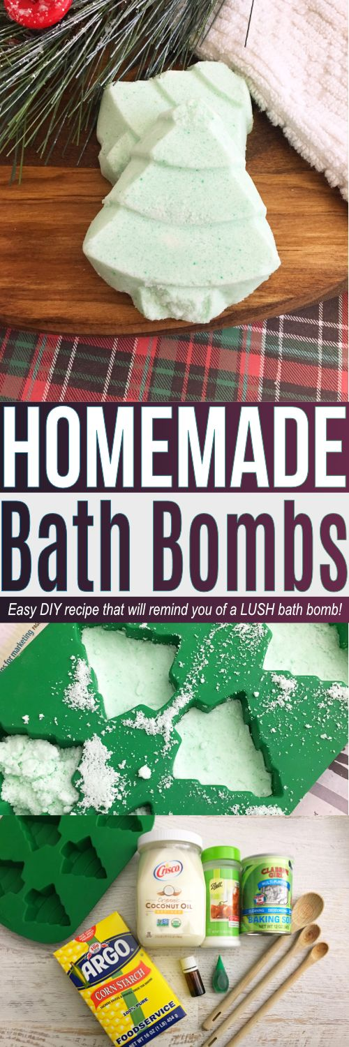 The best bath bomb recipe and a LUSH copycat! Learn how to make the best DIY bath bombs recipe easy that is great for pampering yourself or homemade gifts!