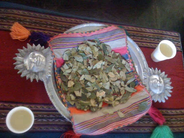 Coca leaves and coca tea for altitude, and visiting some amazing Inca sites