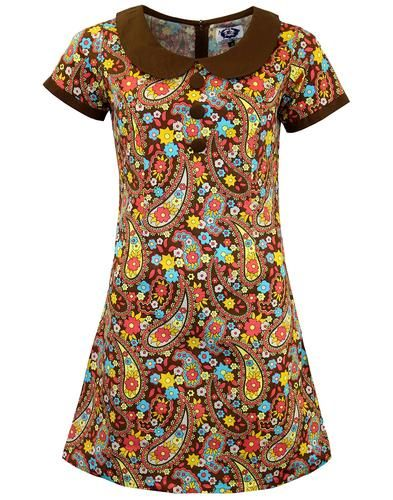 Dollierocker Paisley MADCAP ENGLAND Mod Dress B from Madcap England