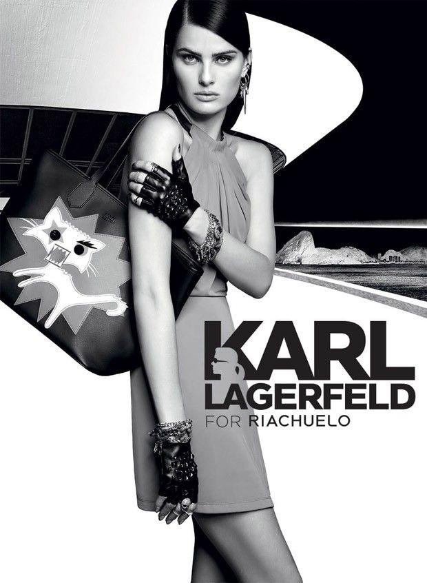 Изабели Фонтана для Karl Lagerfeld for Riachuelo