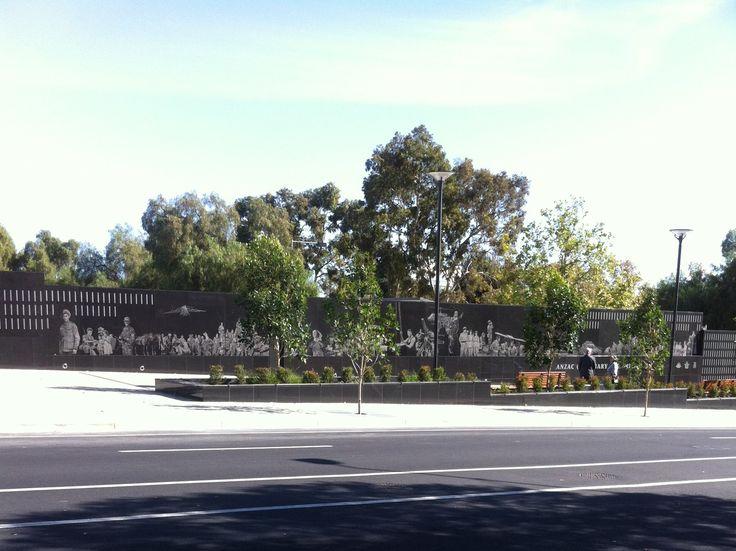 The Anzac Centenary Memorial Wall Kintore Avenue Adelaide South Australia