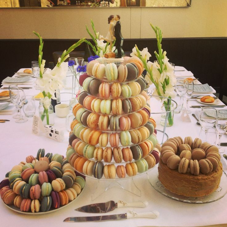 Macaron Tower wedding cake!