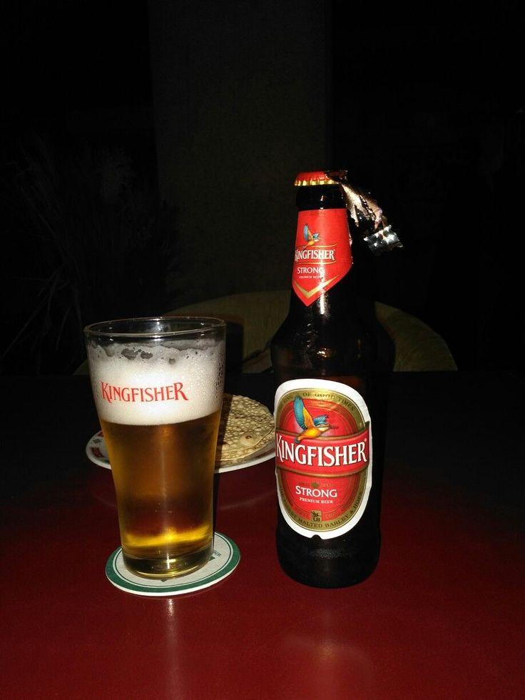 Kingfisher strong bière brassée en Inde par United