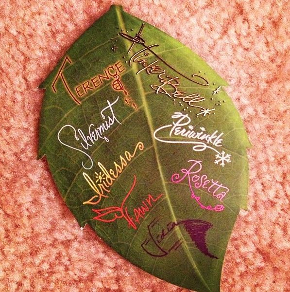 Fairies Autographs