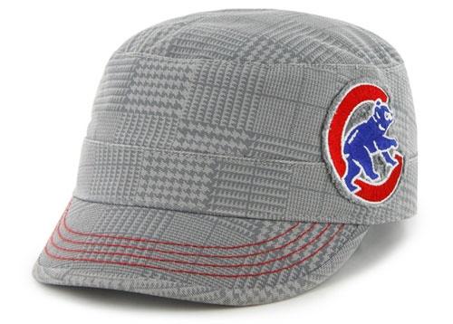 Chicago Cubs Women's Gray Dover Cap $19.95
