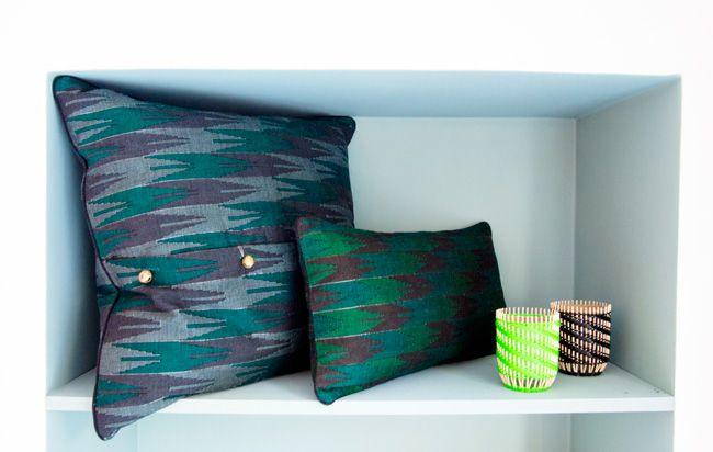 Coussins Dhaka, handmade from Nepal