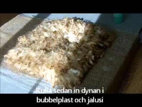 Tovad sittdyna - YouTube