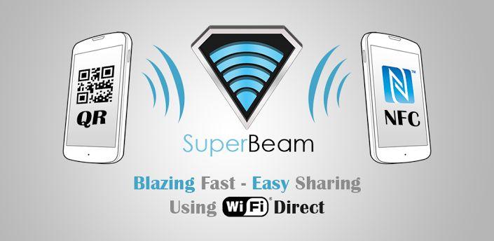 SuperBeam   WiFi Direct Share v.2.1.1 full APK ~ Android paradise