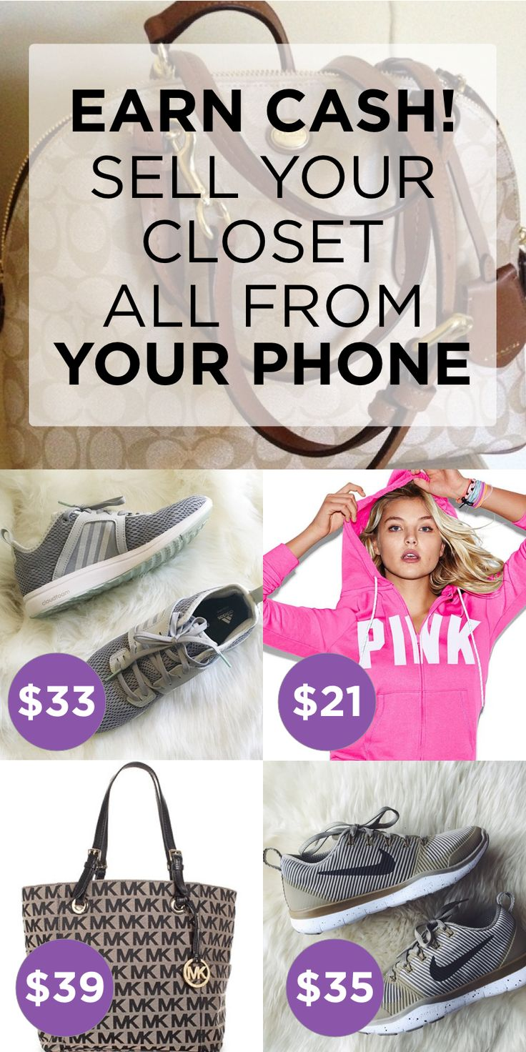 Install Poshmark now and Sell your Closet all from your Phone! Shipping is easy with Pre-paid shipping label and free use of USPS priority mail boxes! Install the free app now!
