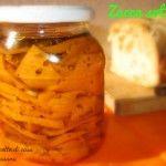 Zucca sott'olio, ricetta conserva