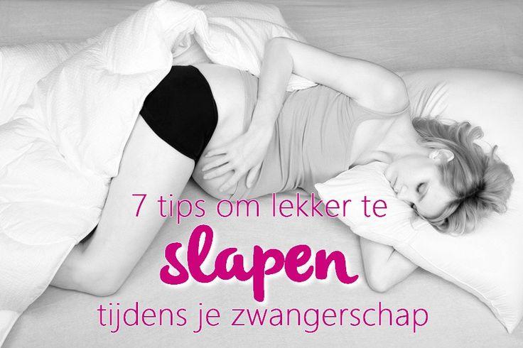 7 tips om lekker te #slapen tijdens je #zwangerschap