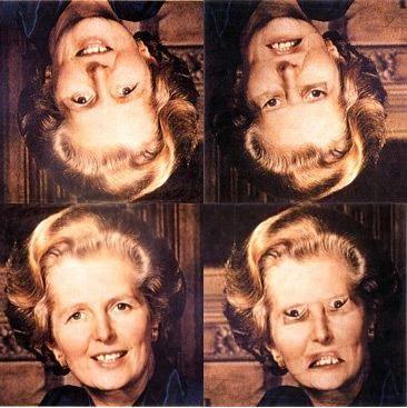 Efecto Thatcher: http://www-users.york.ac.uk/~pt2/thatcher1980.pdf