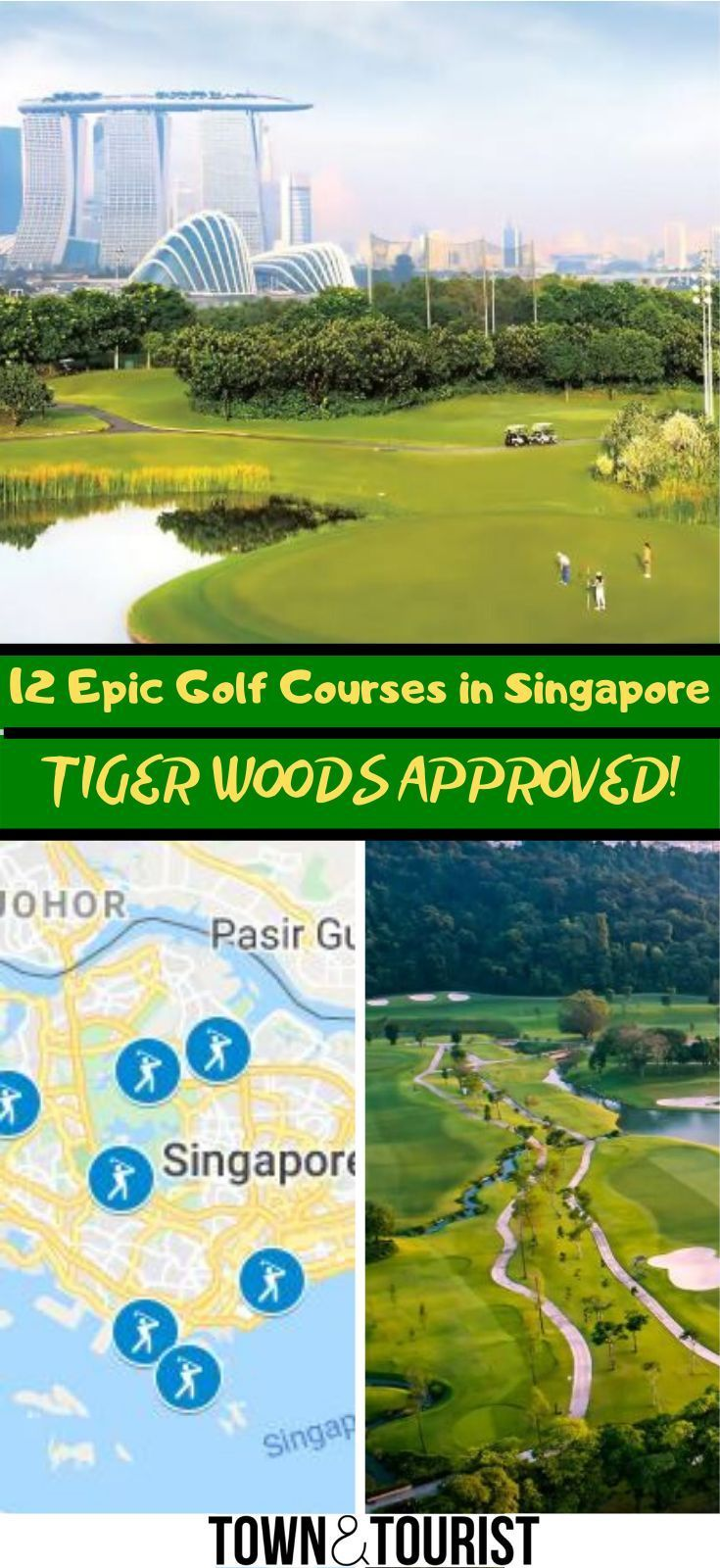12 Incredible Golf Courses In Singapore Tiger Woods Approved In 2020 Asia Travel Travel Travel South