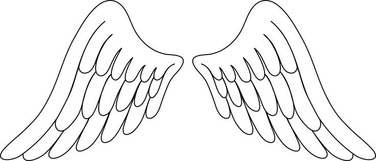 Angel wings angel wing clip art image - Clipartix