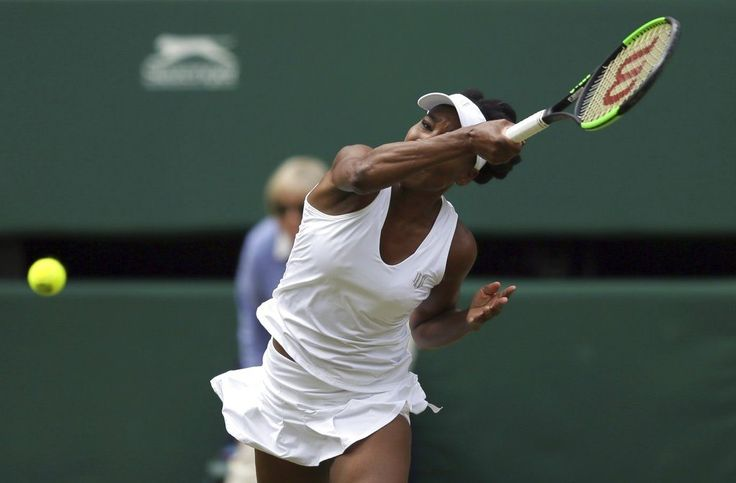 LONDON/July 13, 2017 (AP)(STL.News) — Venus Williams reached her ninth Wimbledon tennis final and first since 2009, turning in her latest display of gutsy serving to beat Johanna Konta 6-4, 6-2 on Thursday.    At 37, Williams is the oldest finalis...
