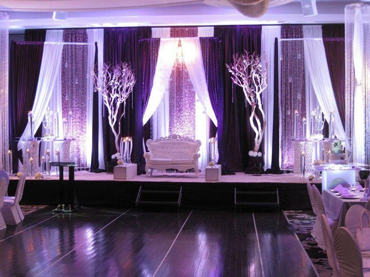 gorgeous indian/south asian wedding stage decoration by diya decor