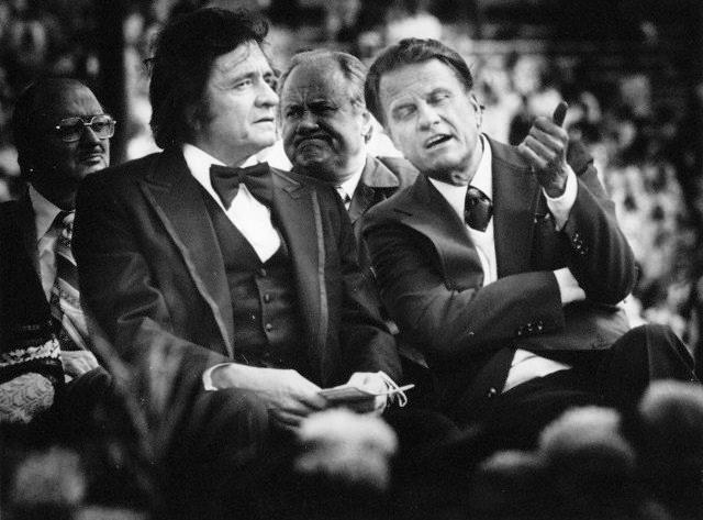 John with Rev. Billy Graham