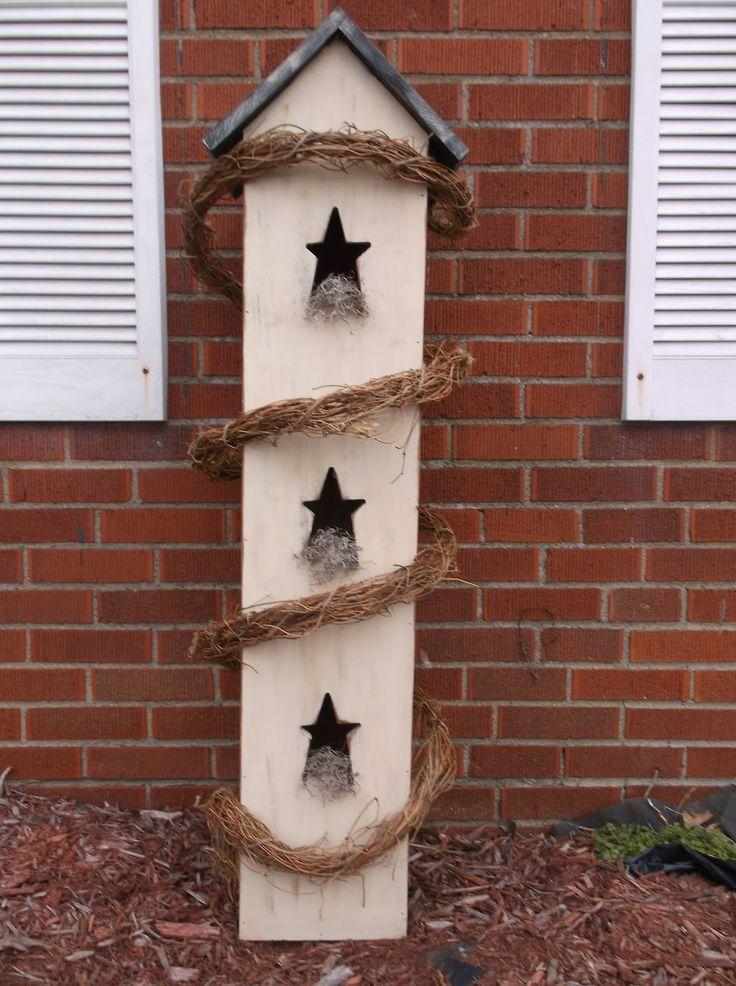 Primitive Bird Houses | Simpsons woodcrafts with Moore: Primitive birdhouse