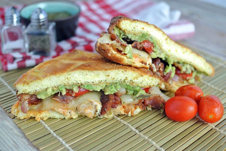 Bacon, Avocado, and Chicken Sandwich | Ruled Me