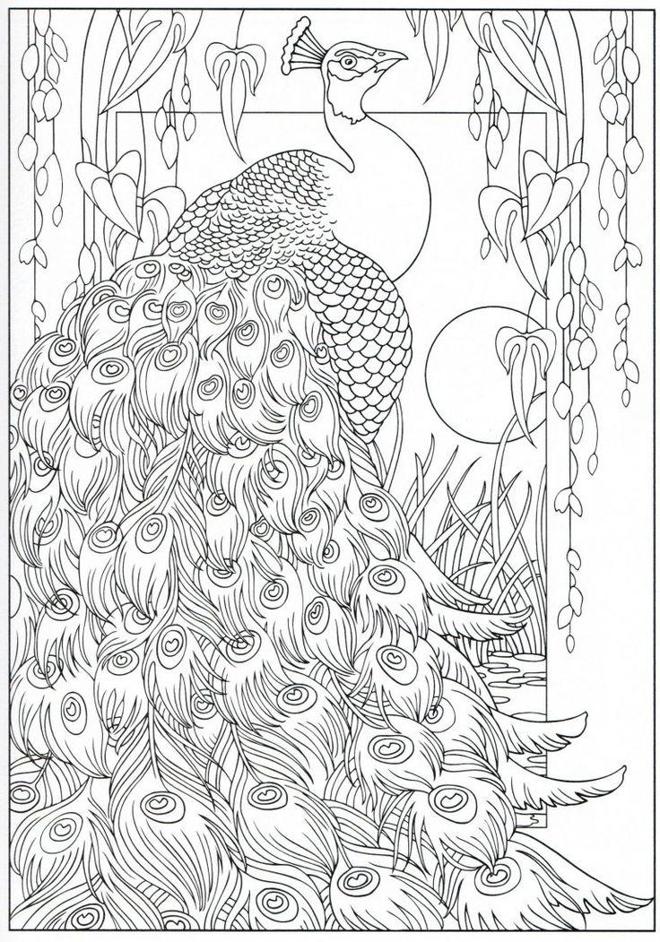blühende vögel malbucher | malvorlagen, malvorlagen tiere