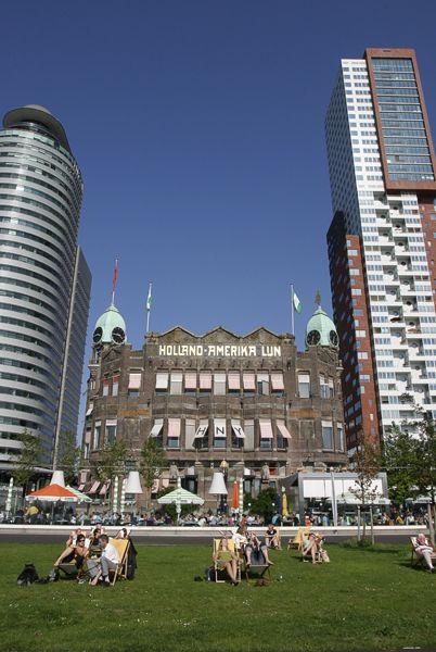 Hotel New York Rotterdam - Restaurant