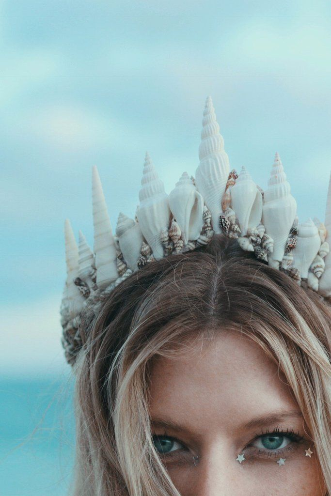"""La Jolla"" mermaid crown by Wild and Free Jewelry"