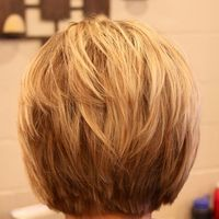 back of A-line bob.  Wish mine would look like this!  Maybe someday i will grow it back out.