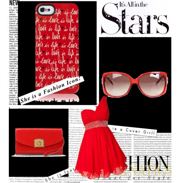 """red is back"" by tactica on Polyvore"