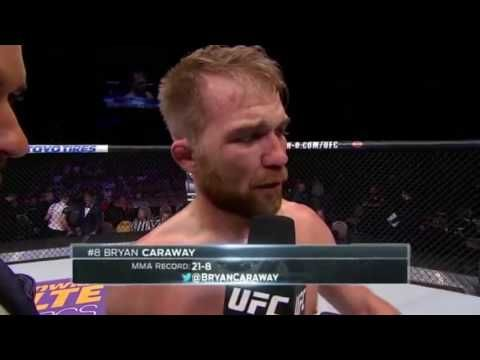 Fight Night Las Vegas: Bryan Caraway Octagon Interview - YouTube