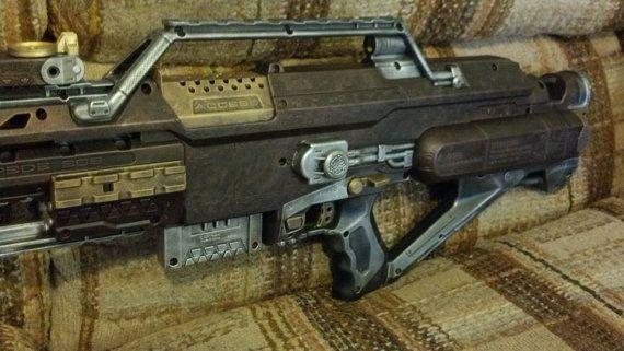 Steampunk Nerf Stampede Rifle