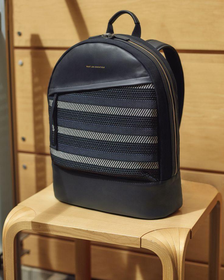 Kastrup Backpack in Blue Cord