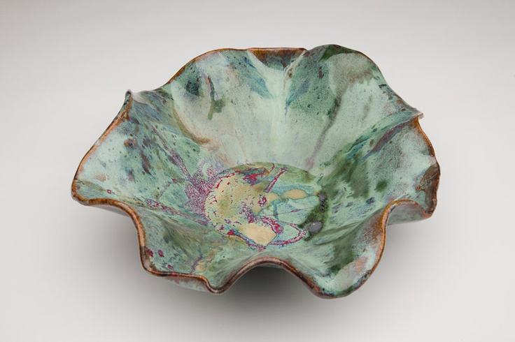Millers Mud Mill Pottery from Dumas, AR. One of a kind. $90.   http://www.bourbonandboots.com/store/products/millers-mud-bowl/#