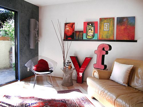 Living With Colorful Art U2014 House Tour Roundup Part 73