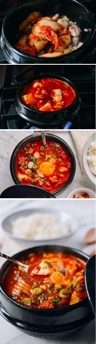 #Soondubu #Jigae (#Korean #Soft #Tofu #Stew) recipe by the Woks of Life