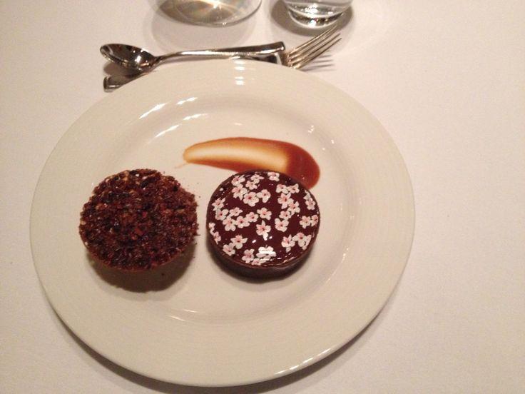 Yummy Chocolate dessert @ Trump Hotel