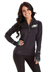 Philadelphia Eagles Women's Nike Conversion 1/2 Zip Pullover Jacket $64.99 http://store.philadelphiaeagles.com/Philadelphia-Eagles-Womens-Nike-Conversion-12-Zip-Pullover-Jacket-_-1532379124_PD.html?social=pinterest_pfid37-03112