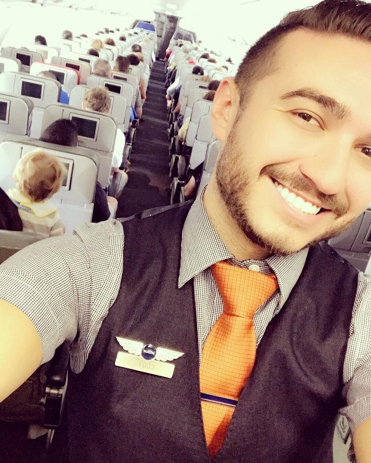 From @codyrhester Happy Flight Attendants Make Happy Passengers. Nice passengers make happy Flight Attendants!!! #flightlife #flightcrew #flightattendant #flightattendantlife #cabincrew #cabincrewlife #crew #crewlife #inflight #flight #travel #wings #smile #happy #passengers #airport #airplane #backgalley #viewfrommywings @flightattendantsboys @cabincrewthreads @ccrewlife @instacrewiser @crew.me @thecrewlounge @aviationepic @gorgeousairlines #crewiser #airhostess #flying #avgeek #stewardess…