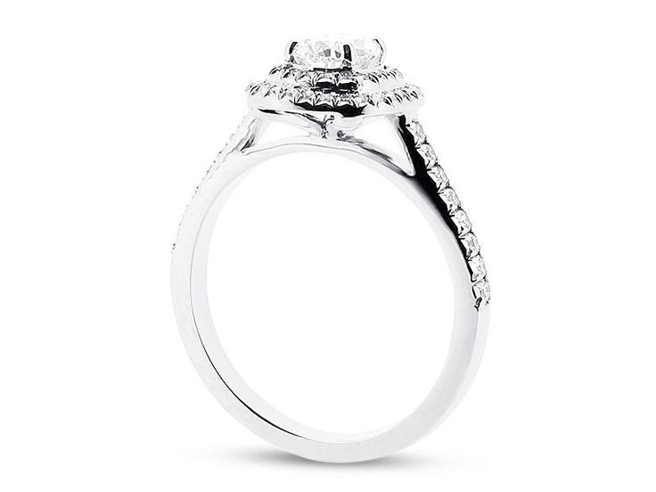 Cushion Double Halo Ring - ER 1334