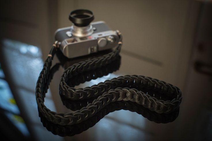Rock n Roll camera strap.  by TieHerUpcamerastraps