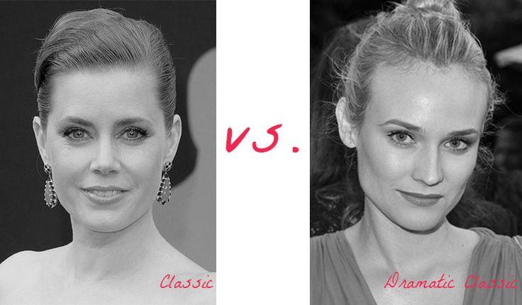 Classic (Amy Adams) vs. Dramatic Classic (Diane Kruger). Typ urody Classic – kobieta doskonała.