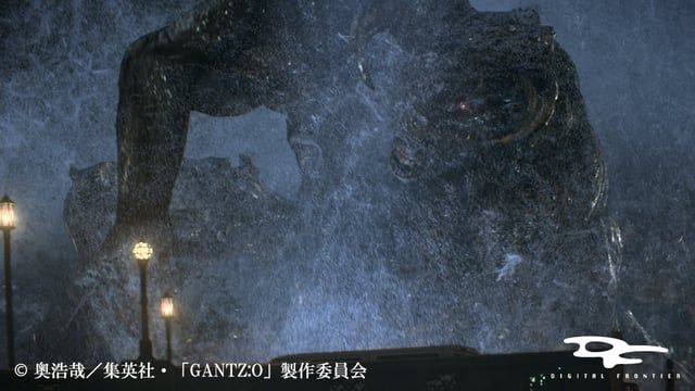 """GANTZ:O"" is a full 3DCG SF action animated film based on the popular ""Osaka"" arc from the Hiroya Oku's original Manga. Its basic story is the battle between people who just died but get revived and mysterious aliens.  http://gantzo.jp/  ■CG Making https://www.dfx.co.jp/cgmaking/gantz_O/index.html https://www.dfx.co.jp/en/cgmaking/gantz_O/index.html  © Hiroya Oku / Shueisha ""GANTZ: O"" Production Committee"