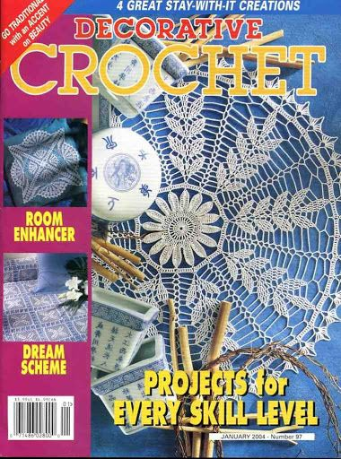 Decorative Crochet Magazines 61 - Gitte Andersen - Веб-альбомы Picasa