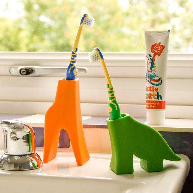 On The Vast Plains Of The Bathroom Sink Roam Diego U0026 Grace Toothbrush  Holders.