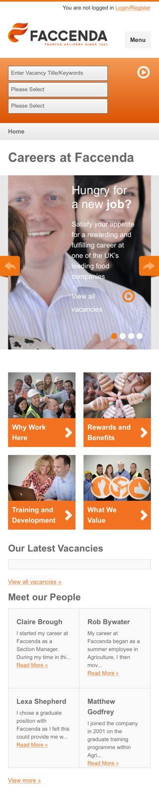Faccenda Careers Site