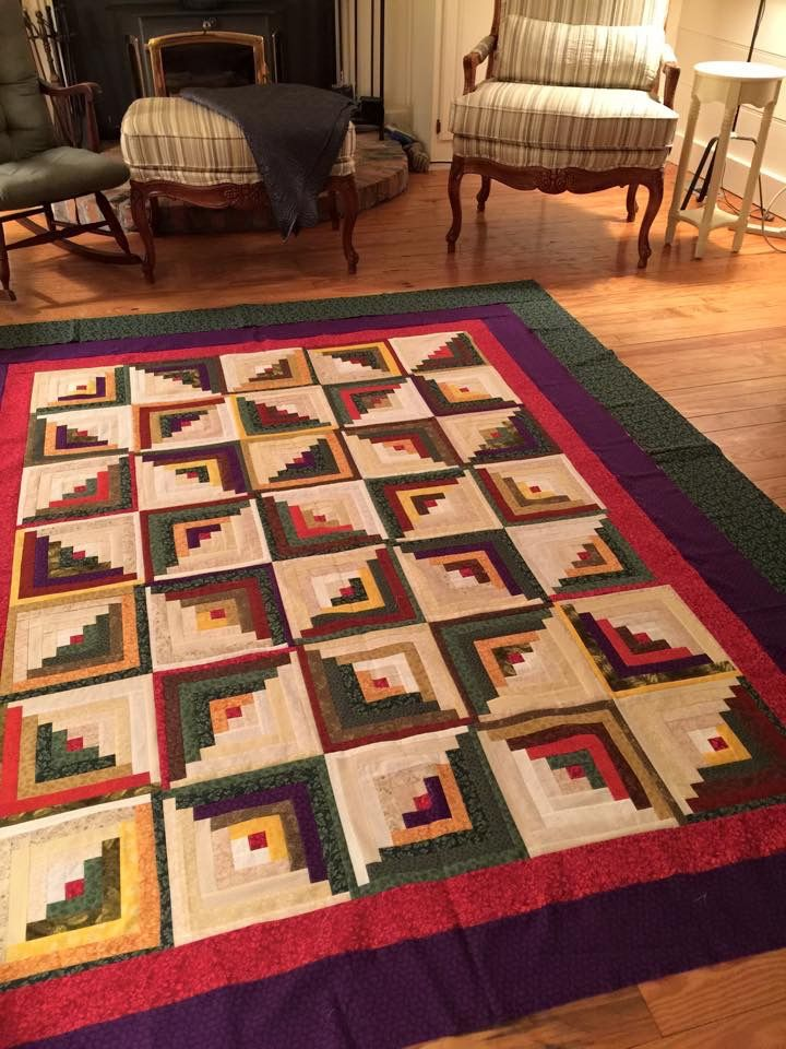 Pin by Kathy Hartman on Log cabin quilts Log cabin