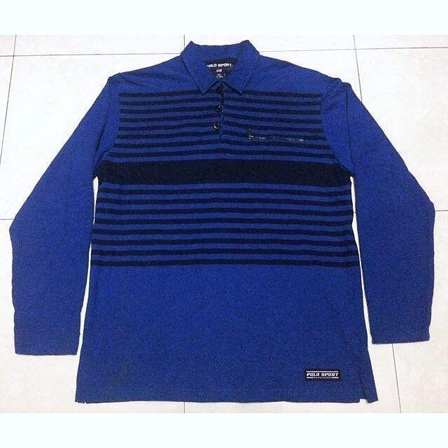 Authentic Polo Sport Ralph Lauren Long Sleeve 90's Shirt Vintage Rare by oldskoolthing on Etsy https://www.etsy.com/uk/listing/515717743/authentic-polo-sport-ralph-lauren-long